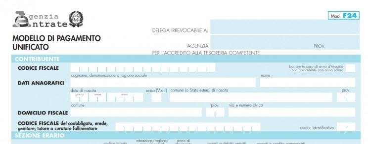 Modello f24 Imu, il pdf da compilare per la scadenza di giugno 2020